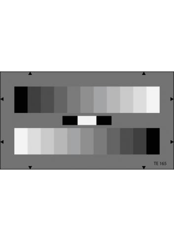 Image Engineering - Carta de ajuste Escala de Grises ETC-TE165-16:9-A280