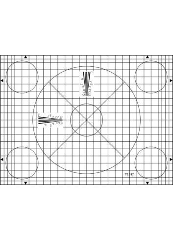 Image Engineering - Carta de ajuste Grid ETC-TE187-A280
