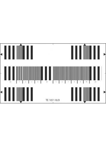 Image Engineering - Carta de ajuste Multi-Burst ETC-TE107-16:9-A280