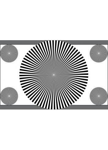 Image Engineering - Carta de ajuste Sector Star ETC-TE161-16:9-A280