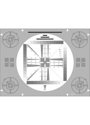 Image Engineering - Carta de ajuste universal de alta resolución ETC-TE097-A280