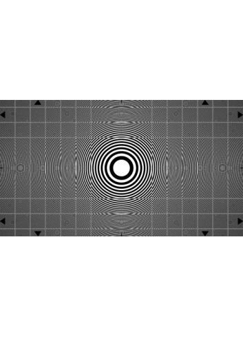 Image Engineering - Carta de ajuste Zone Plate ETC-TE113-16:9-A280