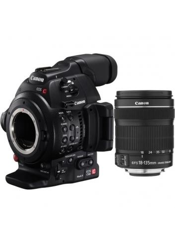 Canon EOS C100 Mark II + 18-135mm f/3.5-5.6 IS STM