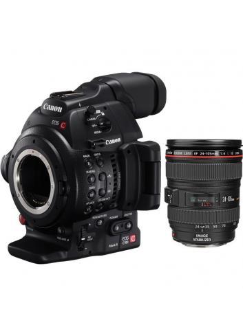 Canon - CÁMARA EOS C100 MARK II + 24-105mm/4 IS USM