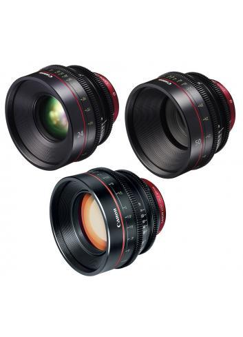 Canon EF Primes Bundle 24/50/85