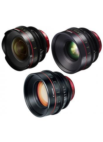 Canon EF Primes Bundle 14/24/85