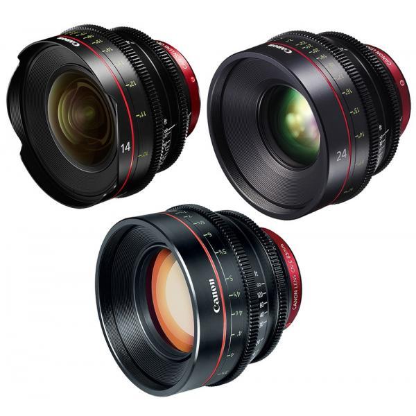 Canon - KIT DE OBJETIVOS CINE 14/24/85 (M)
