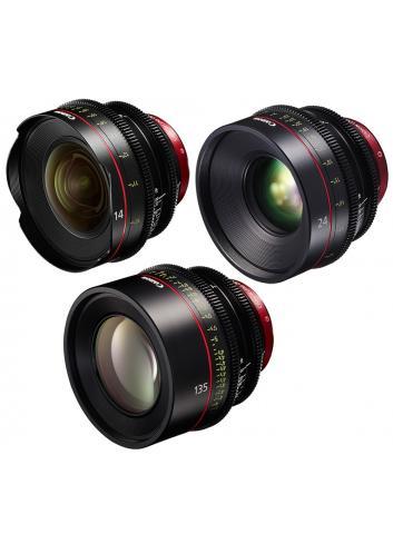 Canon - KIT DE OBJETIVOS CINE 14/24/135 (M)