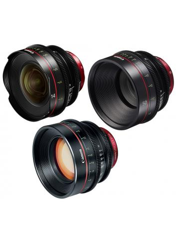 Canon - KIT DE OBJETIVOS CINE 14/50/85 (M)
