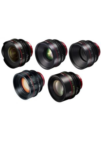 Canon EF Primes Bundle 14/24/50/85/135
