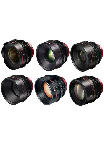 Canon EF Primes Bundle 14/24/35/50/85/135