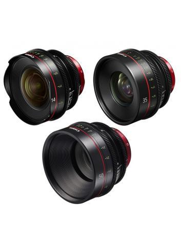 Canon EF Primes Bundle 14/35/50