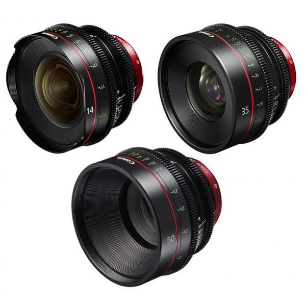 Canon - KIT DE OBJETIVOS CINE 14/35/50 (M)