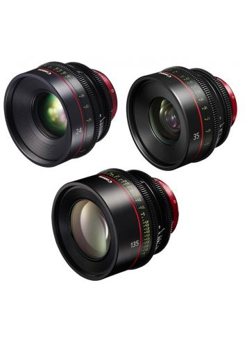 Canon EF Primes Bundle 24/35/135
