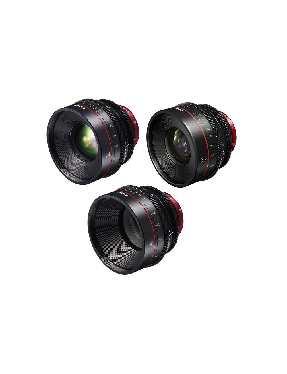 Canon - KIT DE OBJETIVOS CINE 24/35/85 (M)