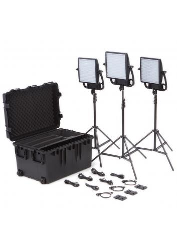 Litepanels - Kit ASTRA 1x1 Traveler TRIO VM