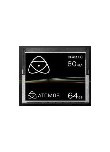 Tarjeta de memoria Atomos CFAST 64Gb