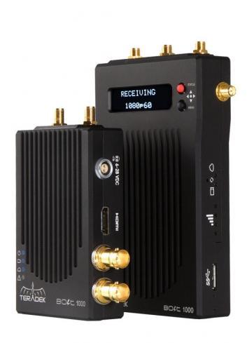 TERADEK BOLT Pro 1000 Wireless HD-SDI / HDMI Dual format Transmitter / Receiver Set