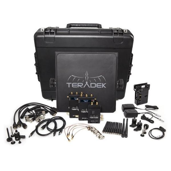 Teradek Bolt Pro 3000 TX/2RX Deluxe SDI/HDMI GOLD MOUNT