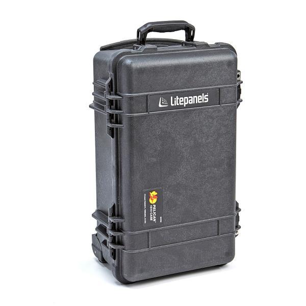 Litepanels Lykos Bi-Color Flight Kit con paquete de batería