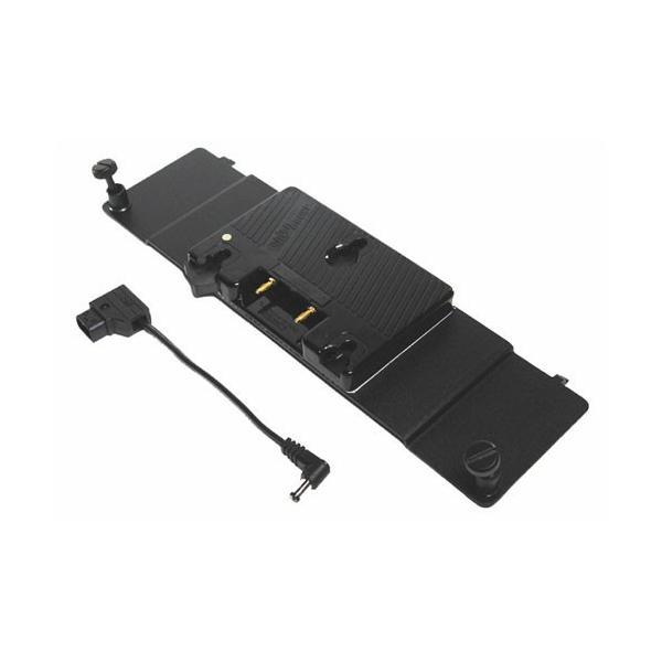 Litepanels - Adaptador de baterías con Gold Mount para 1x1