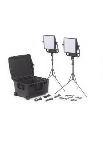 Litepanels Astra 1x1 Soft Traveler Duo Kit