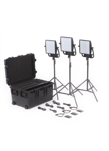 Litepanels Astra 1x1 Soft Traveler Trio Kit