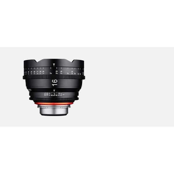 Samyang XEEN 16 T2,6 montura Canon