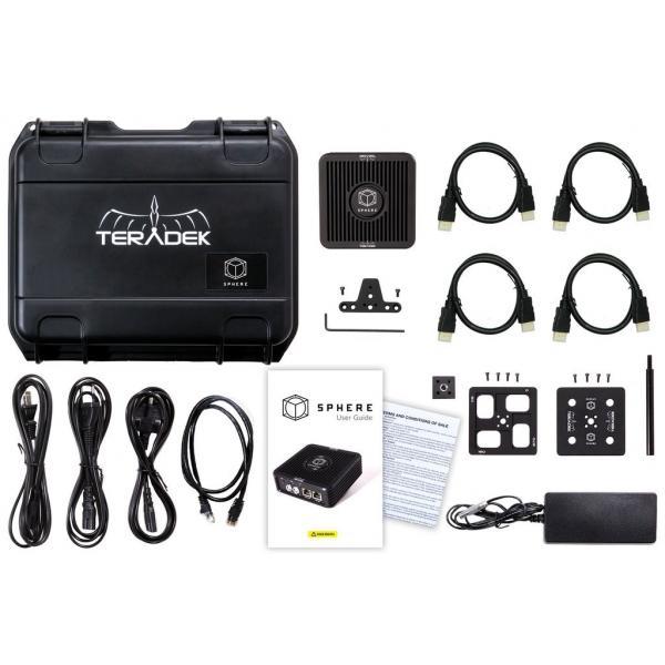 TERADEK SPHERE 360 Real Time Video Monitoring & Live Streaming