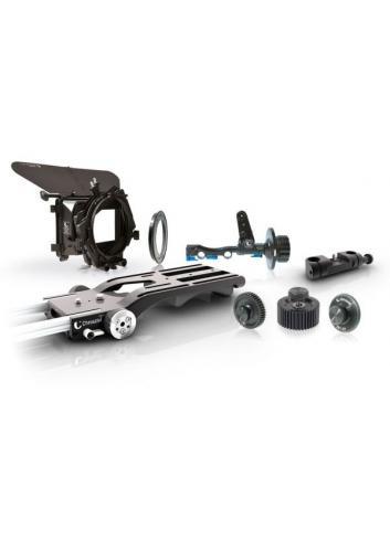 Chrosziel Mattebox Kit Sony FS7 w. Light Weight Support + Follow Focus