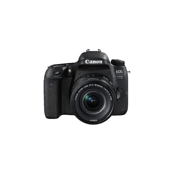 Canon EOS 77D + EF-S 18-55 IS STM NEW