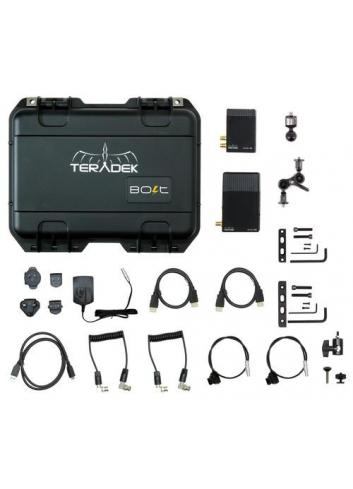 TERADEK BOLT Pro 500 HD-SDI / HDMI Wireless Video TX / RX Deluxe Kit
