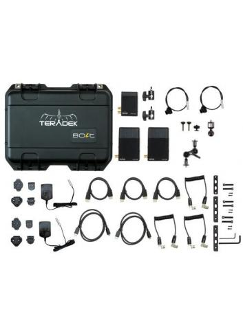 TERADEK BOLT Pro 500 HD-SDI / HDMI Wireless Video TX / 2RX Deluxe Kit