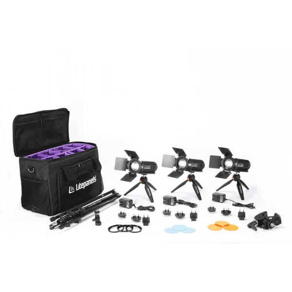 Litepanels Caliber 3 Light Kit