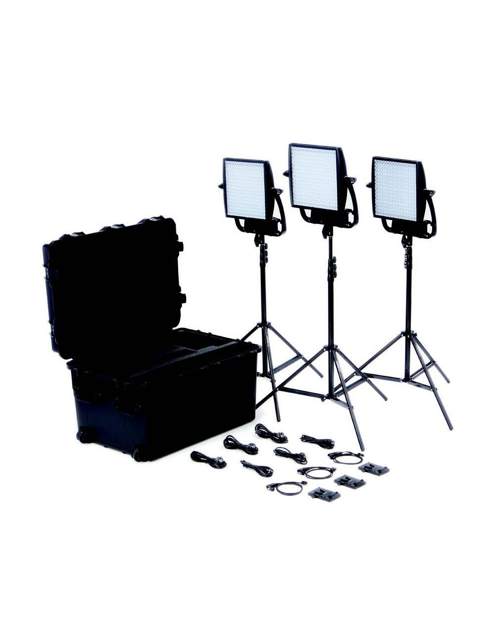 Litepanels Astra 3X Traveler Trio V-Mount Kit