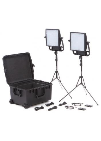 Litepanels Astra 3X Traveler Duo V-Mount Kit