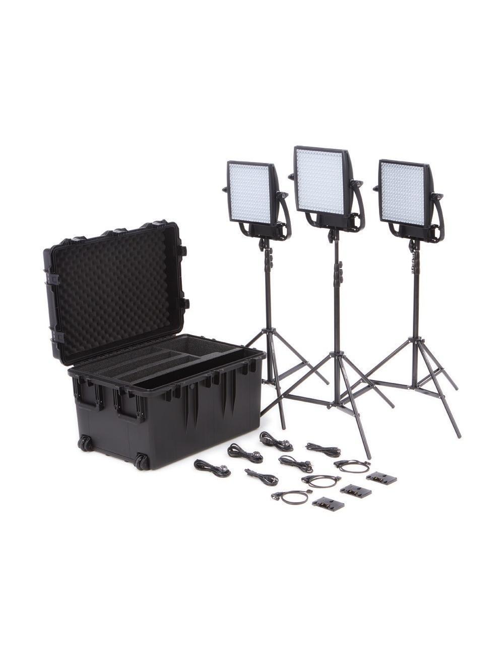 Litepanels Astra Soft + Astra 6X Traveler Trio V-Mount Kit
