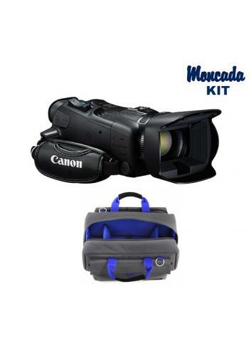 Canon XA35 con una batería Canon BP 820 de regalo + camRade Transporter Medium Kit