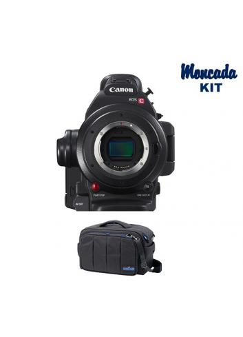 Canon EOS C100 Mark II + camRade run&gunBag Cinema Kit