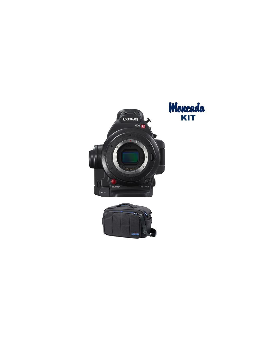 Canon EOS C100 Mark II con Atomos Ninja Blade (regalo) + camRade run&gunBag Cinema Kit