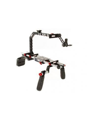 SHAPE - Soporte de hombro para cámara Canon y visor electrónico C300EVFR