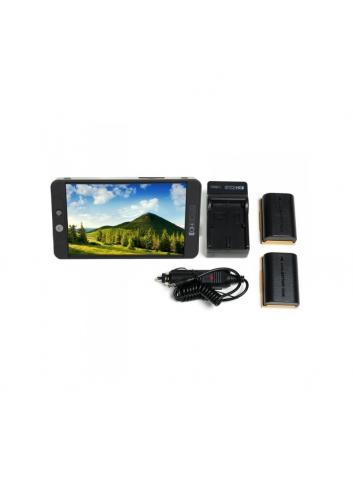 SmallHD 702 Bright Full HD Field Monitor + LP-E6 Battery Kit