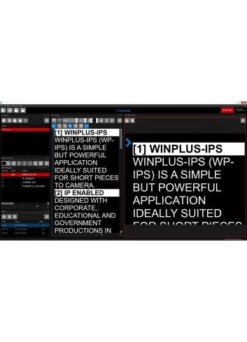 Autoscript WinPlus-IPS