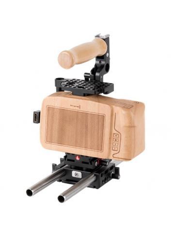 Wooden Camera Blackmagic Pocket Cinema Camera 4K Kit Unified Accessory Kit (base)