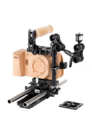 Wooden Camera Blackmagic Pocket Cinema Camera 4K Unified Accessory Kit (Advanced)
