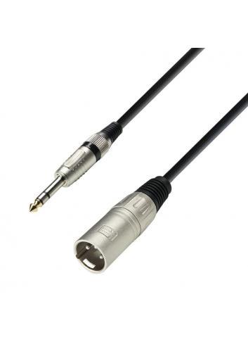 Cable Minijack estéreo a Canon macho