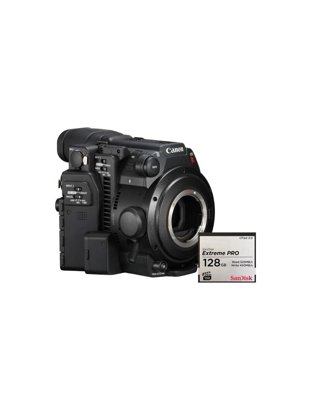 Canon EOS C200 +CFAST 128G