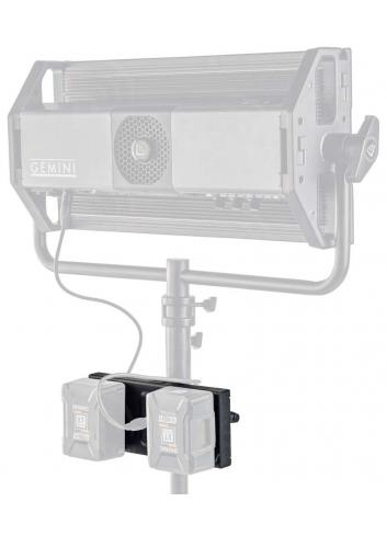 Litepanels Gemini Dual Battery Bracket G/V Mount