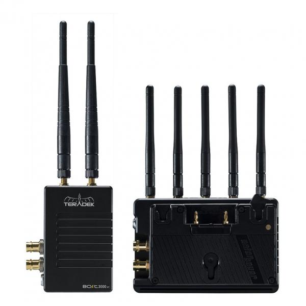 Teradek Bolt 3000 XT SDI/HDMI Wireless TX/RX RX Pass-Through Battery Plates