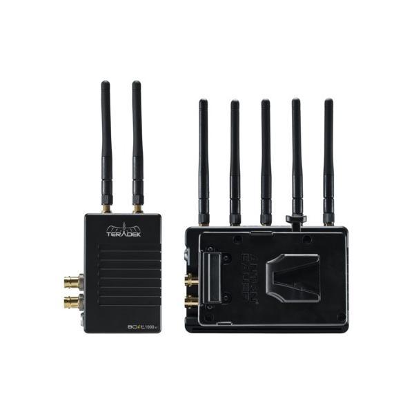 Teradek Bolt 1000 XT SDI/HDMI Wireless TX/RX RX Pass-Through Battery Plate